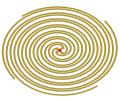 4-arm Archimedes spiral antenna