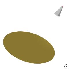 Image of the Offset (symmetric) parabolic reflector