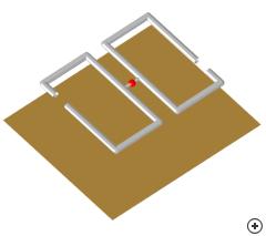 Image of the Circularly polarized rectangular Bi-Quad.