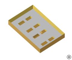Image of the cavity-backed slot array.