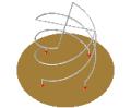 Short-circuited quadrifilar helix (S-C QHA)