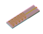 Ultra-small integrated monopole