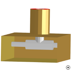 Image of the High-power coax-to-waveguide transition