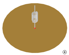 Image of the Inductively-loaded wire monopole antenna