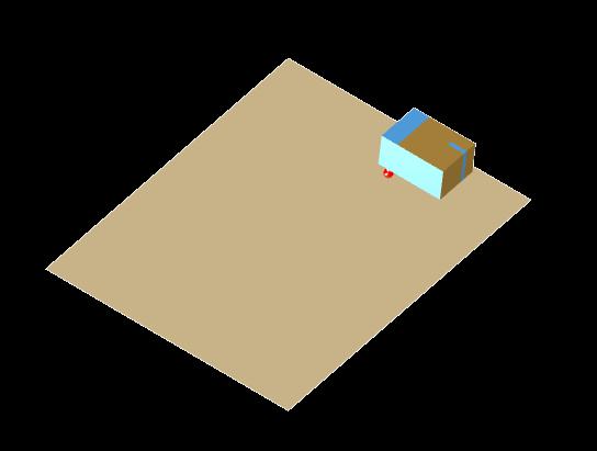 Dielectric folded half-loop