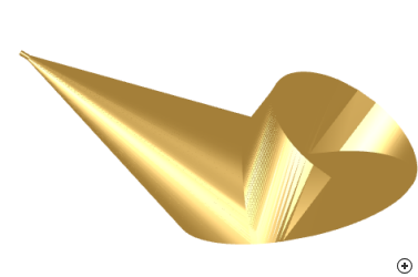 Image of the Conical horn reflector (Cornucopia)