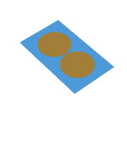Planar elliptical dipole