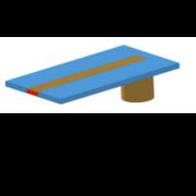Coax to microstrip transition