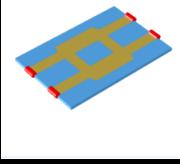 Quad hybrid microstrip coupler