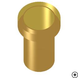 Image of the Pin-fed single choke horn antenna