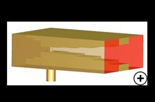 Coax to Dual-Ridged Rectangular Waveguide Transition