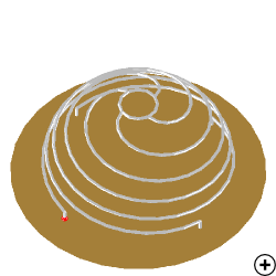 Image of the Folded Spherical Helix Monopole