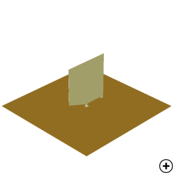 Image of the Beveled Rectangular Monopole with Shorting Strip.