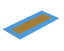 Pin-fed Non-Radiating Edges Gap-Coupled Microstrip Antenna (NEGCOMA)
