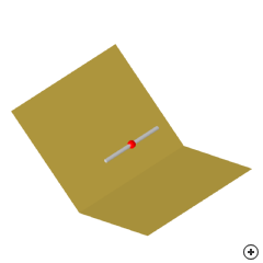Image of the Dipole-fed corner reflector
