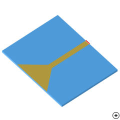 Image of the Planar trapezoidal monopole