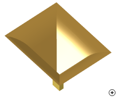 Image of the Aperture-matched pyramidal horn.