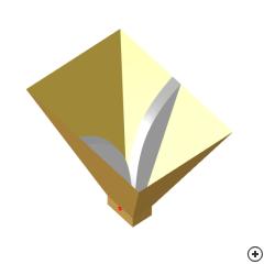 Image of the Pyramidal ridged horn