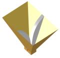Ridged pyramidal horn