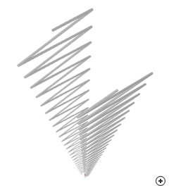 Image of the Wire zigzag log-periodic LPDA).