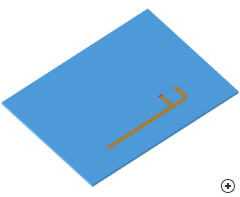 Image of the Printed Inverted-F antenna