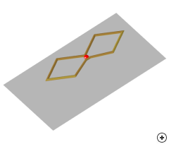 Image of the Bi-Quad antenna.