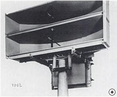 Example of the Cheese antenna in a WW2 military application