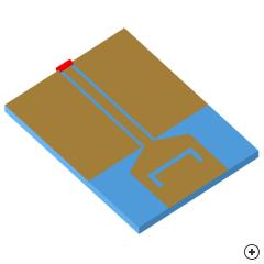 Image of the Notched trapezoidal monopole-antenna