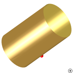 Image of the Pin-fed Circular Waveguide Antenna